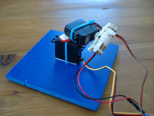 Arduino Laser Cannon - OpenCircuits