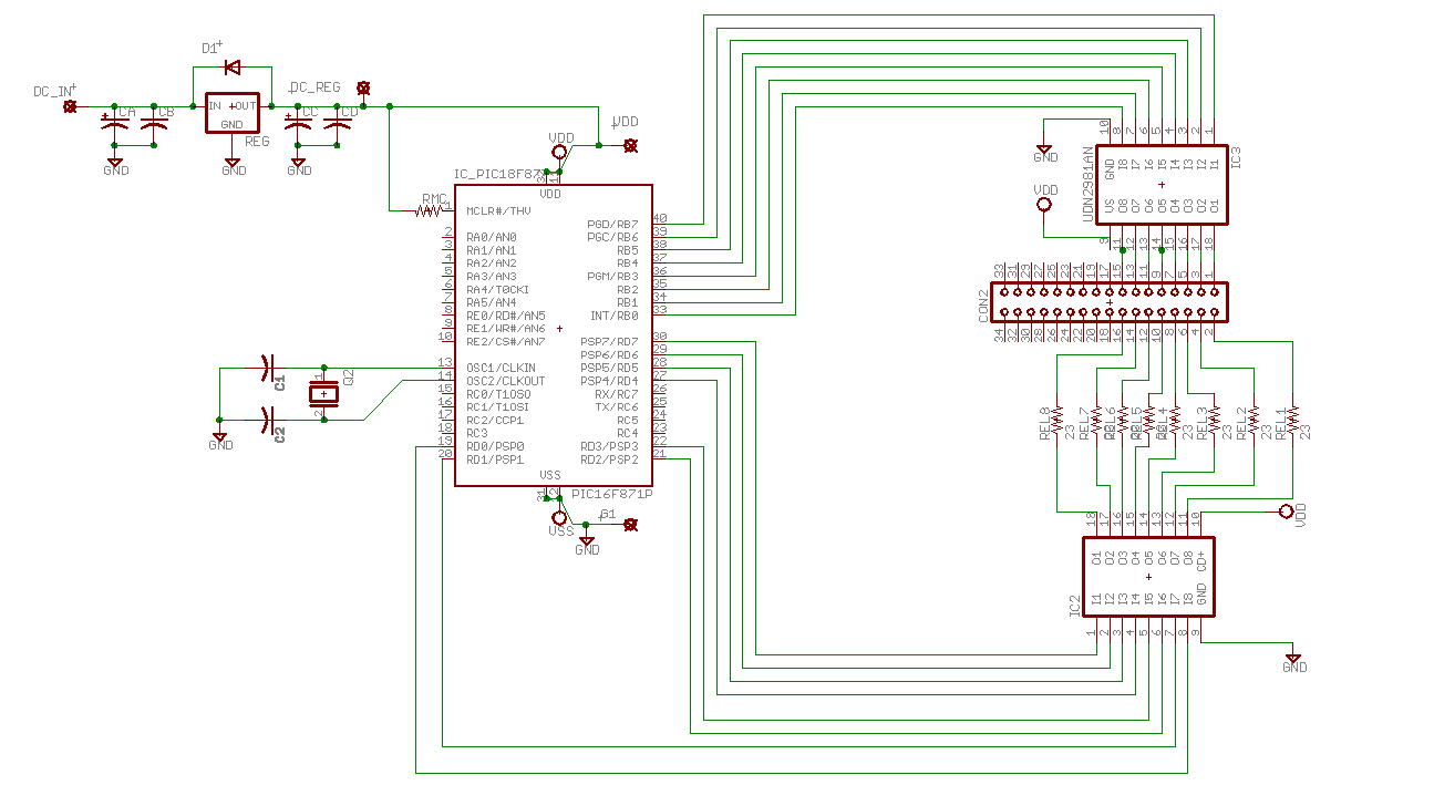 Pointless Led Array Opencircuits Design Circuit