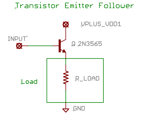 Transistor Emitter Follower